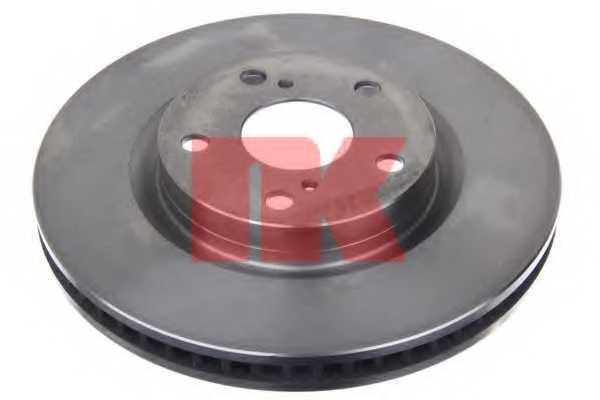 Тормозной диск NK 2045117 - изображение 1