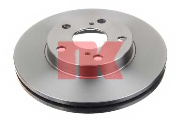 Тормозной диск NK 2045120 - изображение 1