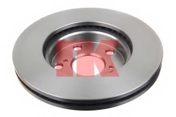 Тормозной диск NK 2045120 - изображение