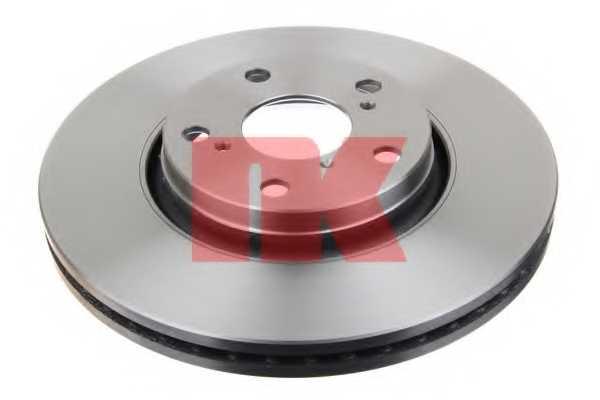 Тормозной диск NK 2045122 - изображение 1