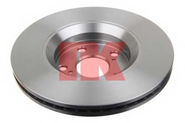 Тормозной диск NK 2045122 - изображение