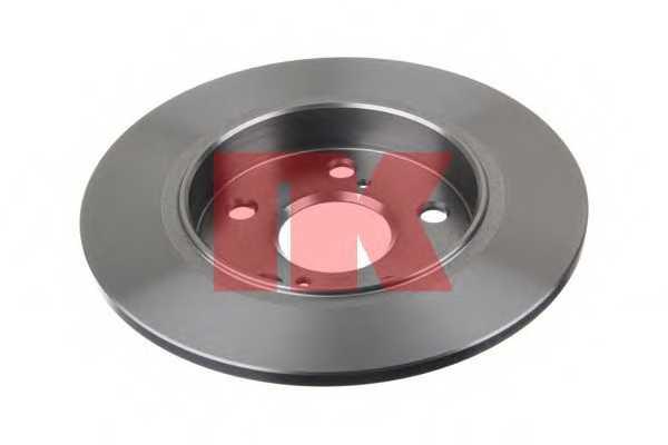 Тормозной диск NK 2045123 - изображение 1