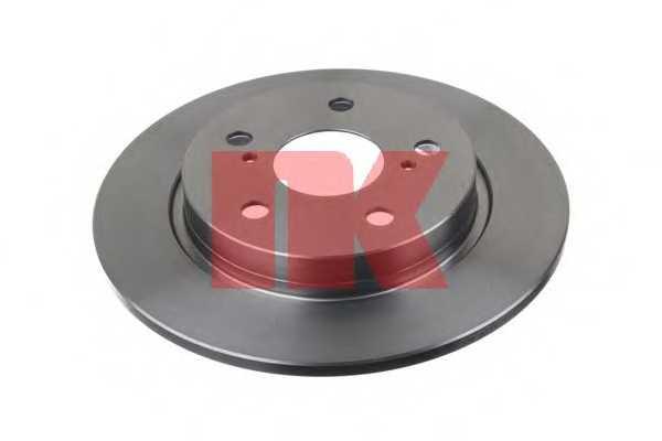 Тормозной диск NK 2045123 - изображение