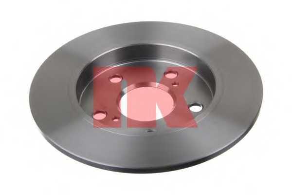 Тормозной диск NK 2045124 - изображение 1