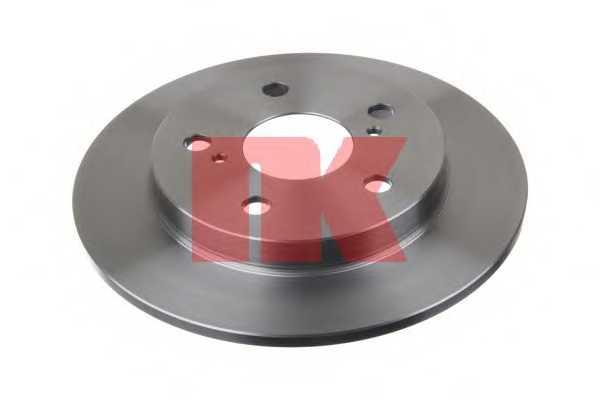 Тормозной диск NK 2045124 - изображение