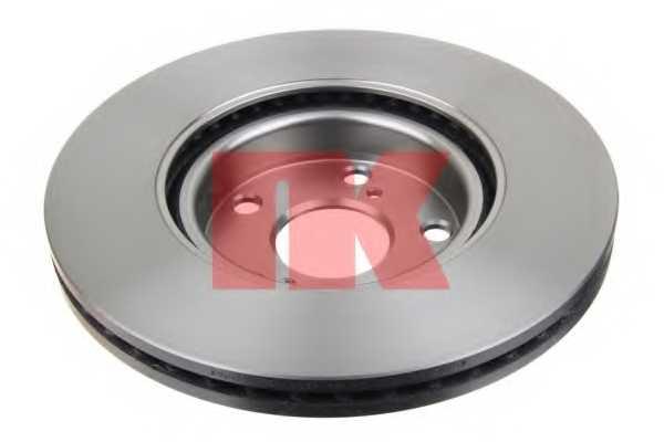 Тормозной диск NK 2045125 - изображение 1