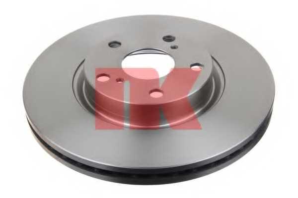 Тормозной диск NK 2045125 - изображение