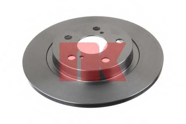 Тормозной диск NK 2045131 - изображение