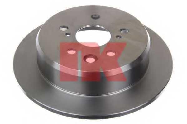 Тормозной диск NK 2045135 - изображение