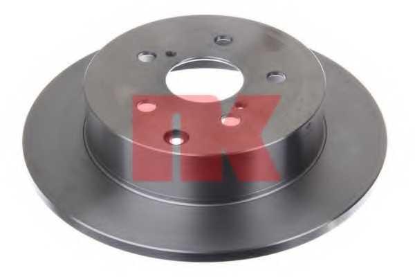 Тормозной диск NK 2045136 - изображение
