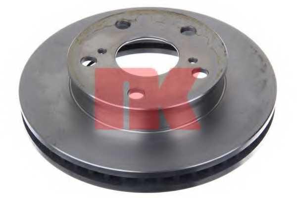Тормозной диск NK 2045137 - изображение