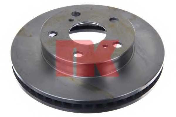 Тормозной диск NK 2045138 - изображение 1