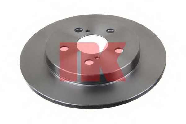 Тормозной диск NK 2045143 - изображение 1