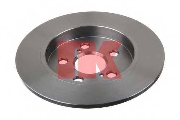Тормозной диск NK 2045143 - изображение