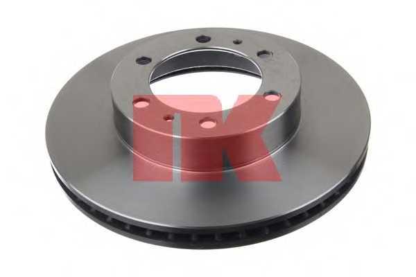 Тормозной диск NK 2045145 - изображение
