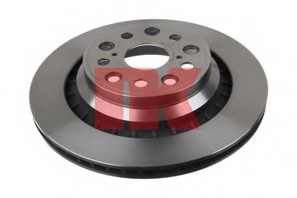 Тормозной диск NK 2045148 - изображение
