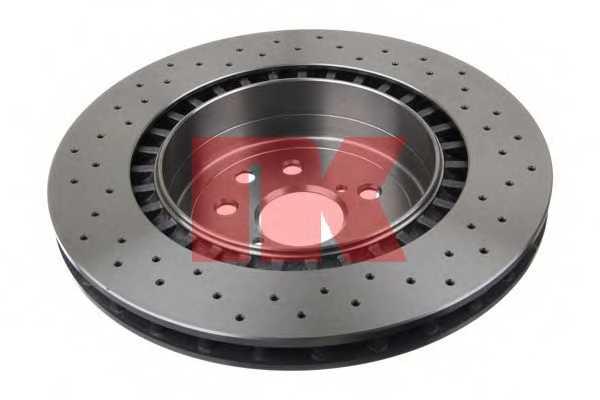 Тормозной диск NK 2045152 - изображение 1
