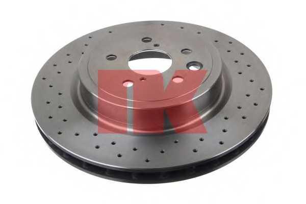 Тормозной диск NK 2045152 - изображение