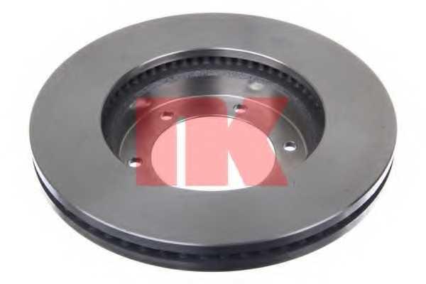 Тормозной диск NK 2045153 - изображение