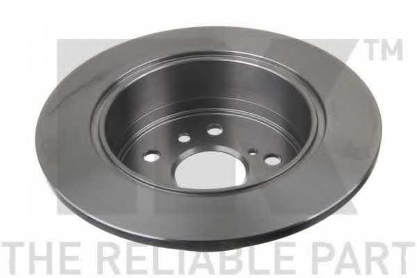 Тормозной диск NK 2045159 - изображение 1