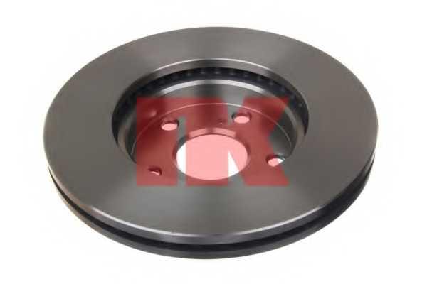 Тормозной диск NK 2045170 - изображение