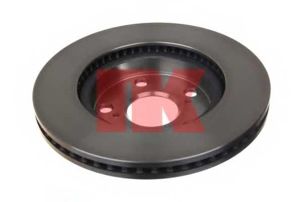 Тормозной диск NK 2045173 - изображение