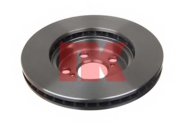 Тормозной диск NK 204539 - изображение