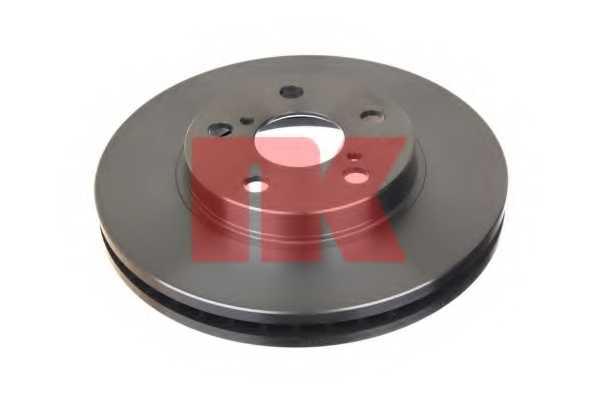 Тормозной диск NK 204540 - изображение 1