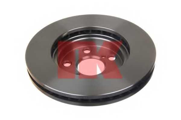 Тормозной диск NK 204540 - изображение