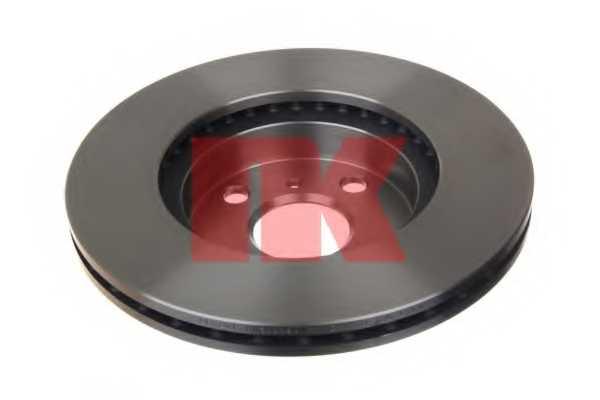 Тормозной диск NK 204543 - изображение 1
