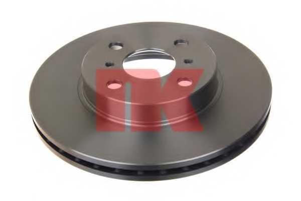 Тормозной диск NK 204543 - изображение
