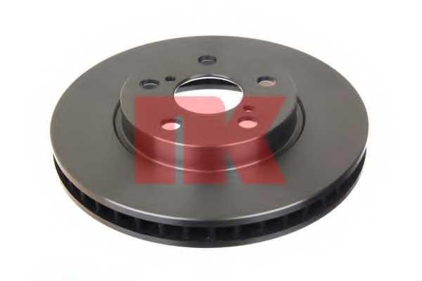 Тормозной диск NK 204544 - изображение 1