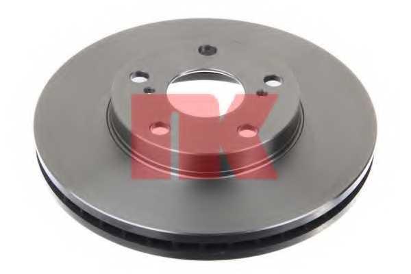 Тормозной диск NK 204549 - изображение