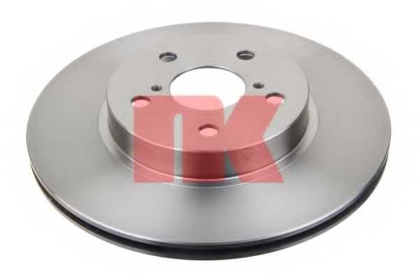Тормозной диск NK 204562 - изображение 1