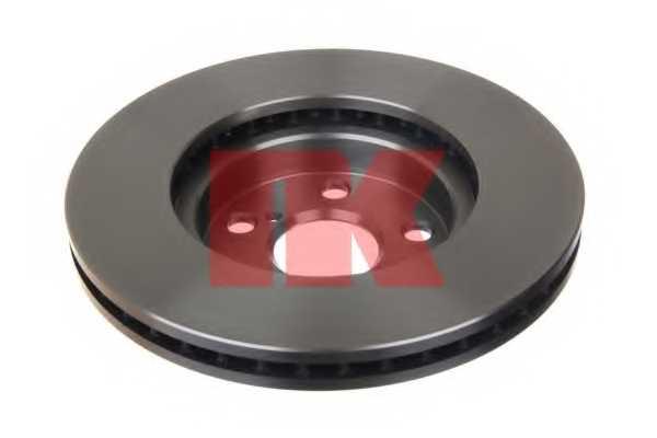 Тормозной диск NK 204564 - изображение 1