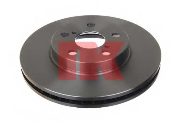 Тормозной диск NK 204564 - изображение