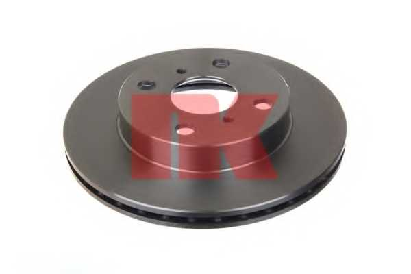 Тормозной диск NK 204565 - изображение 1