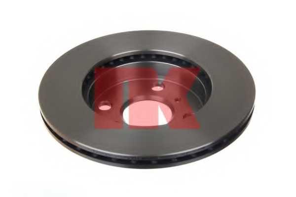 Тормозной диск NK 204565 - изображение
