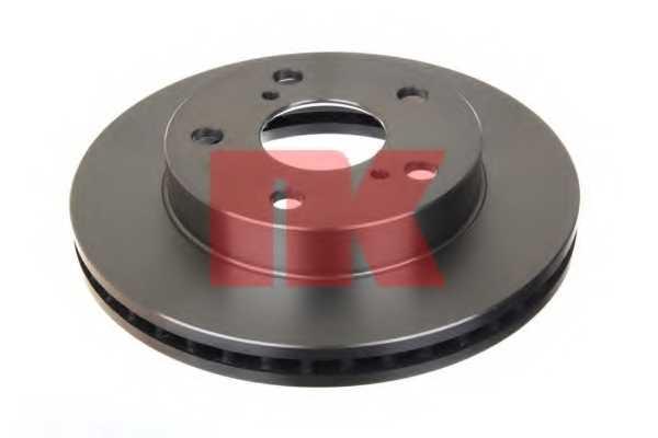 Тормозной диск NK 204569 - изображение 1