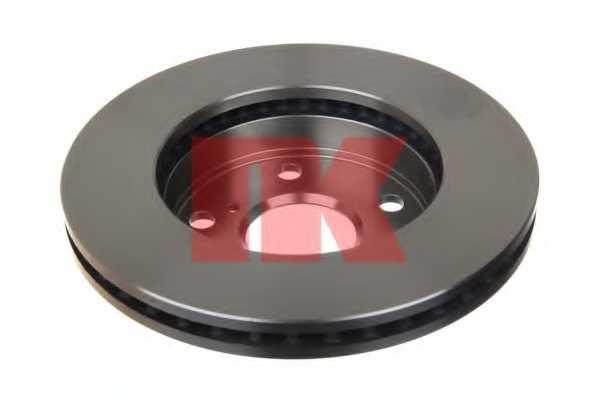 Тормозной диск NK 204569 - изображение