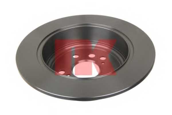 Тормозной диск NK 204574 - изображение 1