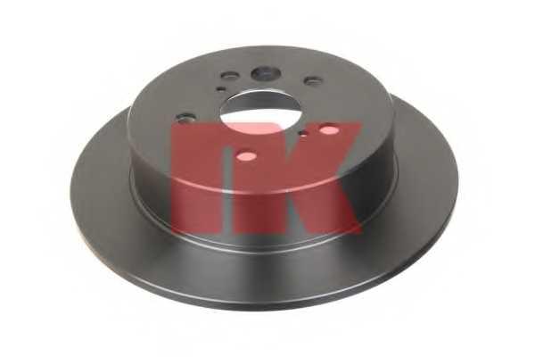 Тормозной диск NK 204574 - изображение