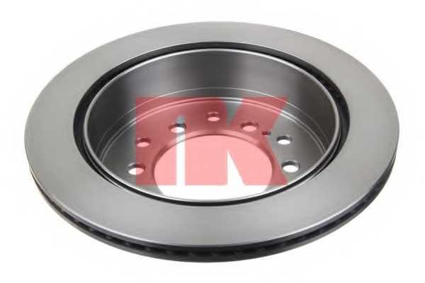 Тормозной диск NK 204575 - изображение
