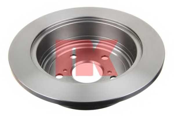 Тормозной диск NK 204576 - изображение 1
