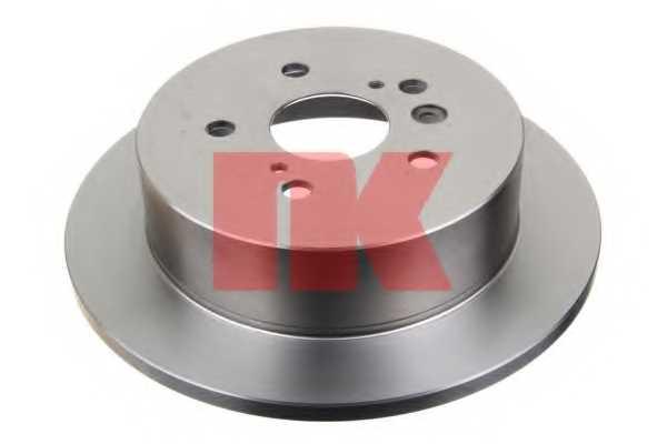 Тормозной диск NK 204576 - изображение