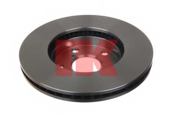 Тормозной диск NK 204578 - изображение