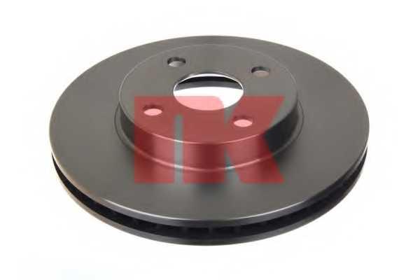 Тормозной диск NK 204579 - изображение 1