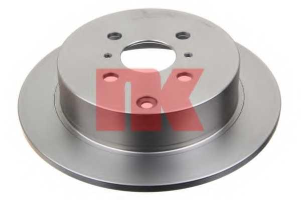 Тормозной диск NK 204581 - изображение 1