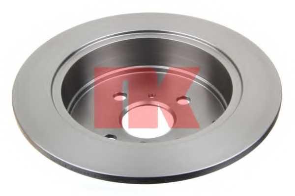 Тормозной диск NK 204581 - изображение