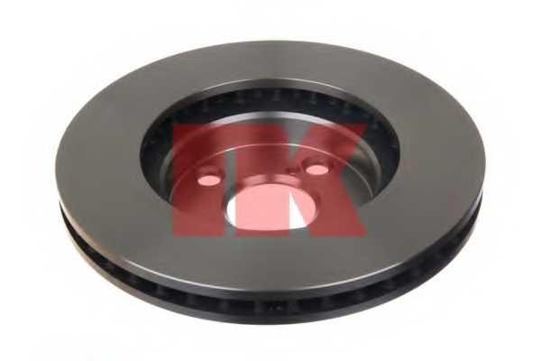 Тормозной диск NK 204582 - изображение 1